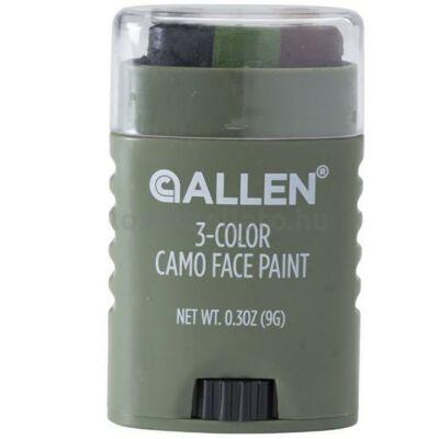 Allen 3-színű camo arcfesték stick