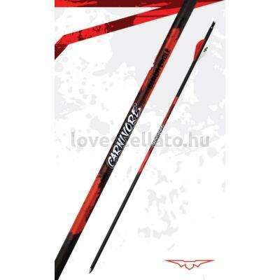 "Black Eagle Carnivore tollazott karbonvessző - .001"" - 400"