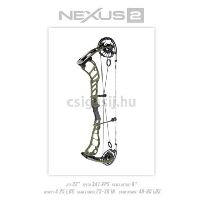 Prime Nexus 2 csigás íj (2021)