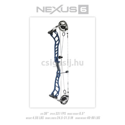 Prime Nexus 6 csigás íj (2021)
