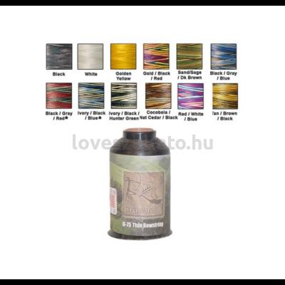 Brownell D75 Dyneema 1/4 lbs .011 vékony combo homok/barna/zöld ideganyag tekercs