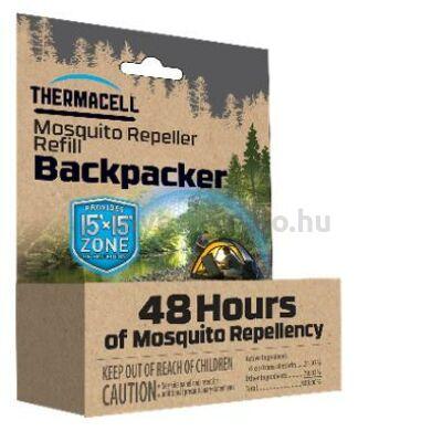 Thermacell BP48 Backpacker utántöltő - 48óra (12 lap)