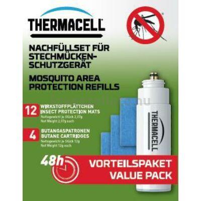 Thermacell R-4 48 órás utántöltő - 4 patron / 12 lapka