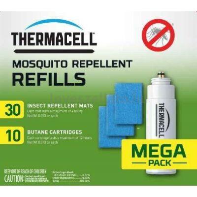 Thermacell R-10 Refill Mega Pack 120 órás utántöltő - 10 patron / 30 lapka