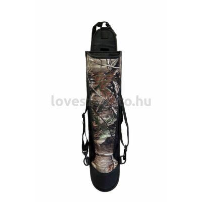 Buck Trail Adventurer háti tegez - fekete/camo