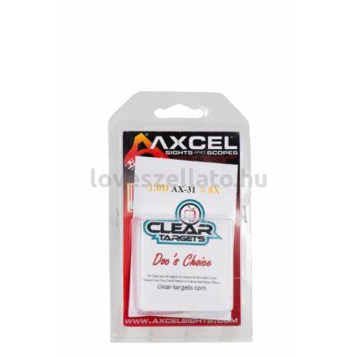 "Axcel AX31 DC scope lencse 1-3/8"" - 8x"