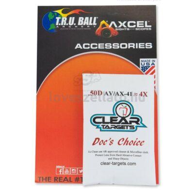 "Axcel AX41 DC scope lencse 1-3/4"" - 4x"