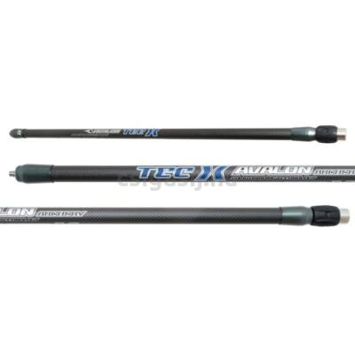 Avalon Tec-X Carbon Long Rod 21 mm stabilizátor gumi rezgéscsillapítóval