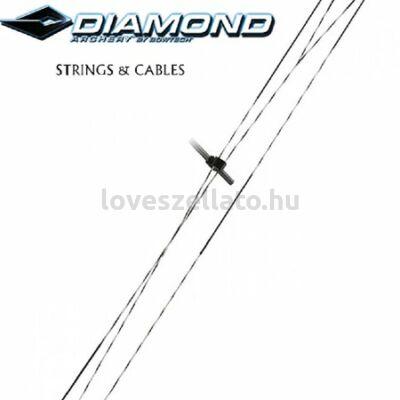 Diamond by Bowtech gyári ideg és kábel szett -  Edge SB1 - sárga/ezüst