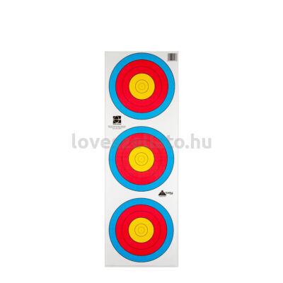 Target Standard Center függőleges poliészter lőlap - 60 cm