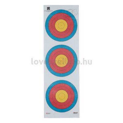 Target Recurve Large Center függőleges poliészter lőlap - 40 cm