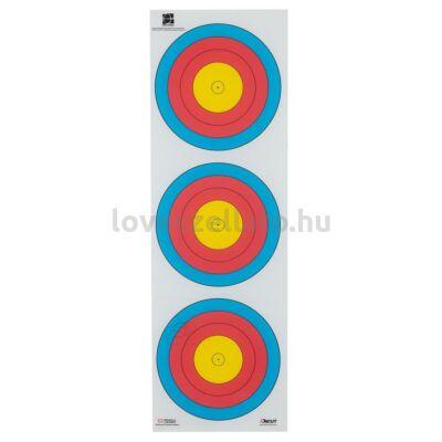 Target Compound Small Center függőleges poliészter lőlap - 40 cm