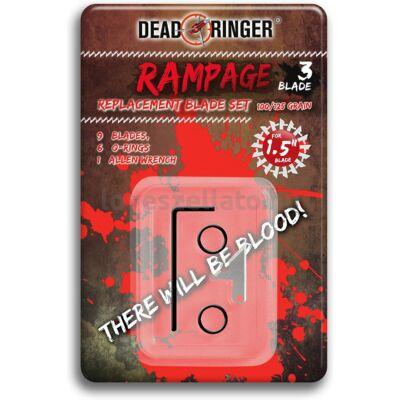 Dead Ringer Rampage vadászhegy cserepengék - 100/125gr (3db)
