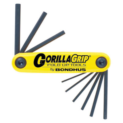 """Bondhus Gorilla Grip colos imbuszkulcs-készlet (nagy) - 5/64"""" - 1/4"""""""