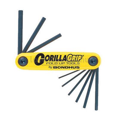 """Bondhus Gorilla Grip colos imbuszkulcs-készlet (kicsi) - 0.05"""" - 3/16"""""""