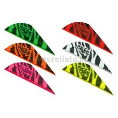 "Bohning Blazer Tiger Stripes Vanes 2"" gumi toll - 100 db"