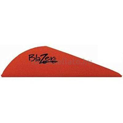 "Bohning Blazer Vanes 2"" gumi toll - piros"