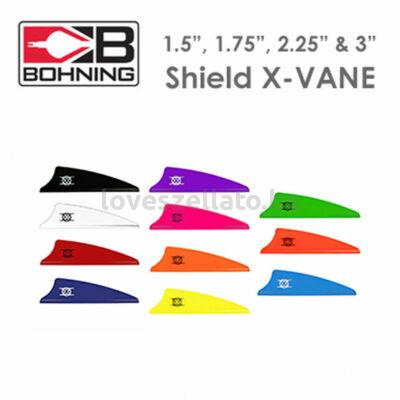 """Bohning X-Shield 1.75"""" gumi toll - neonzöld"""