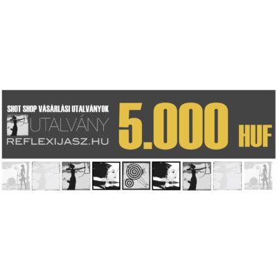 reflexijasz.hu utalvány - 5.000 Ft